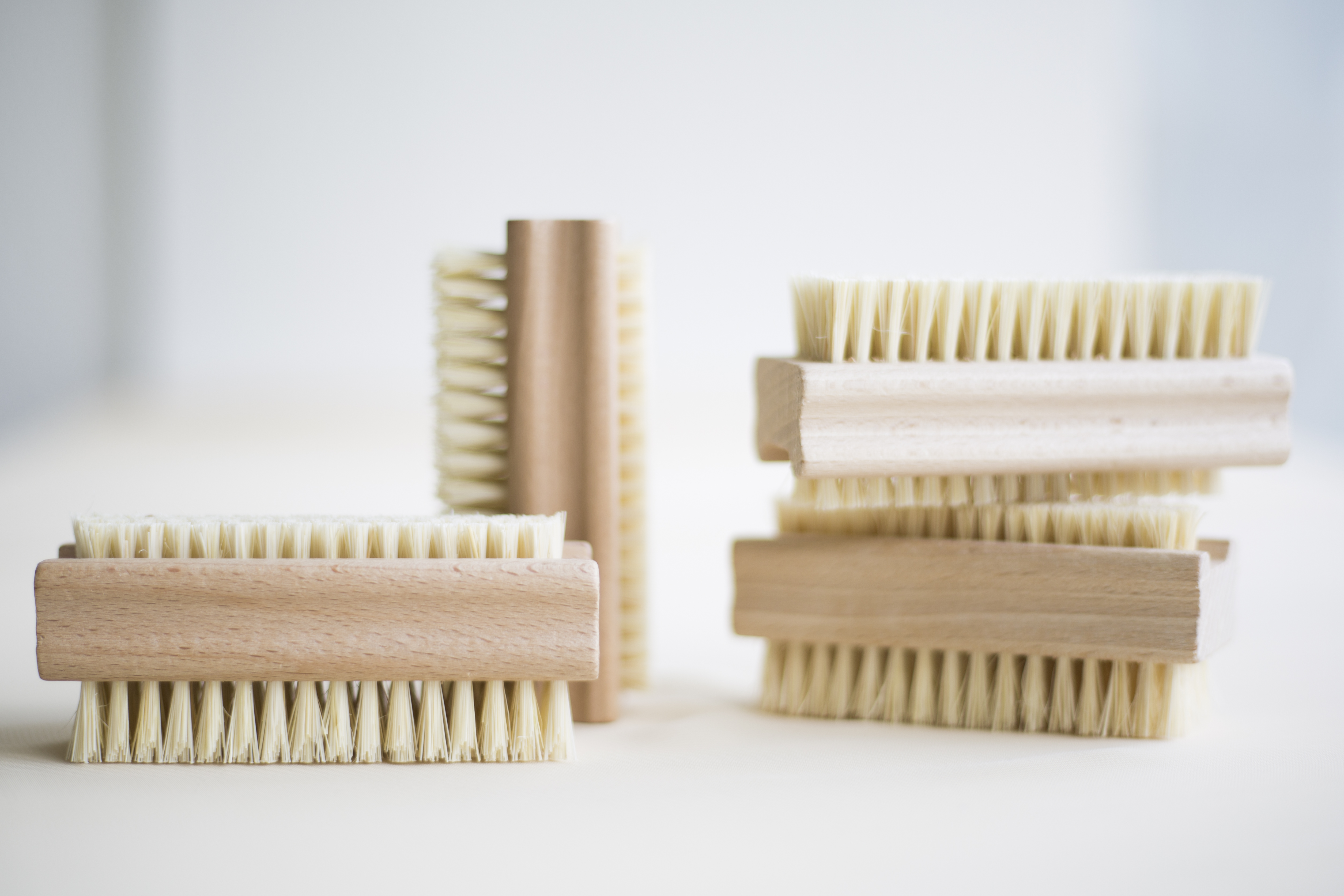 Other Bath & Body Supplies Holzdoppelseitigen Nagelbürste